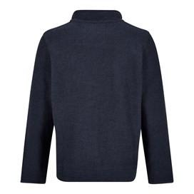 Skipper 1/4 Zip Classic Macaroni Sweatshirt Black Iris