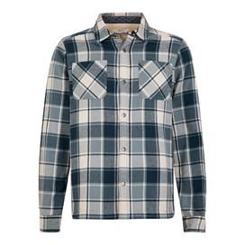 Stoltz Long Sleeve Fleece Lined Shirt Black Iris