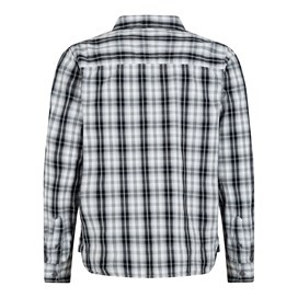 Lamarr Check Long Sleeve Shirt Washed Black