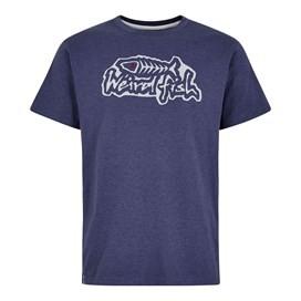 Evolution Branded T-Shirt Night Blue Marl