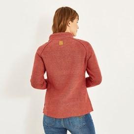 Constantine 1/4 Zip Macaroni Sweatshirt Rhubarb