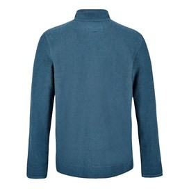 Birch Full Zip Lined Macaroni Sweatshirt Dusty Teal