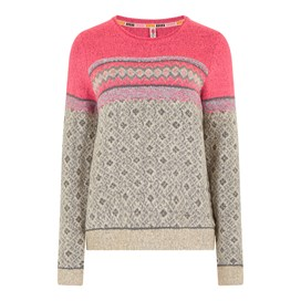 Steffi Fair Isle Jumper Chalk