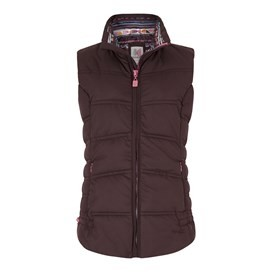 Susa Wadded Gilet Mulled Wine