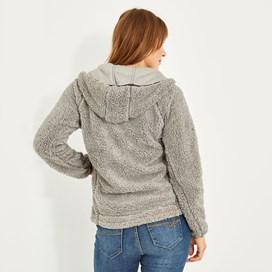Imperial Full Zip Fleece Hoodie Frost Grey Marl