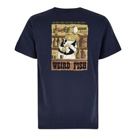 Western Fish Artist T-Shirt Black Iris