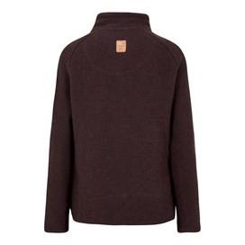 Constantine 1/4 Zip Macaroni Sweatshirt Mulled Wine