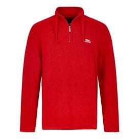Cruiser 1/4 Zip Classic Macaroni Sweatshirt Dark Red