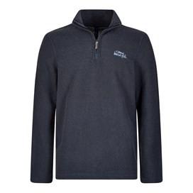 Galvin 1/4 Zip Active Macaroni Sweatshirt Navy