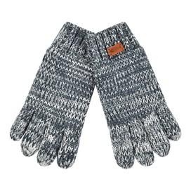 Terril Twisted Yarn Gloves Dusty Teal