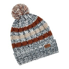 Vito Twisted Yarn Bobble Hat Dusty Teal