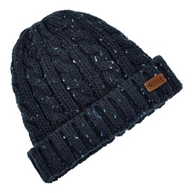 Hollis Cable Nepp Beanie Hat Maritime Blue