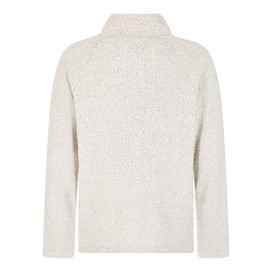 Carna Sierra Knit Zip Through Ecru