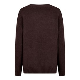 Sally Cable Knit Jumper Mulled Wine