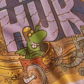 Fin Hur Artist T-Shirt Cranberry
