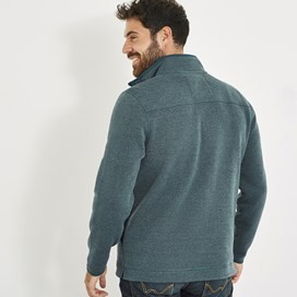 Stowe 1/4 Zip Soft Knit Fleece Dusty Teal