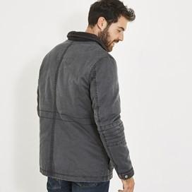 Oban Pigment Print 4-Pocket Jacket Washed Black