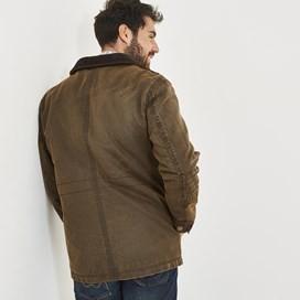 Oban Pigment Print 4-Pocket Jacket Bark