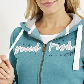 Corinne Branded Zip Through Hoody Viridis