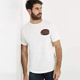 Big Bang Branded T-Shirt Dusty White