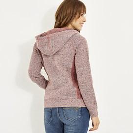 Dania Soft Knit Hoodie Rhubarb