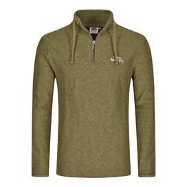 Cruiser 1/4 Zip Classic Macaroni Sweatshirt Military Olive