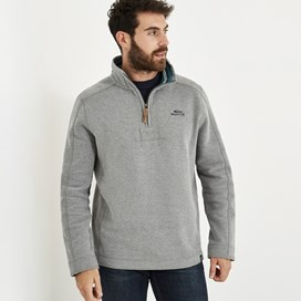 Alyth 1/4 Zip Sweatshirt Grey
