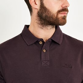 Turiff Organic Cotton Polo Mulled Wine