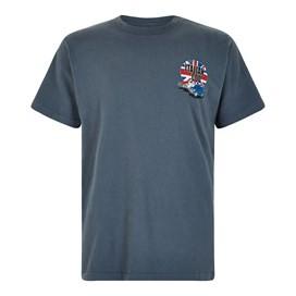 Italian Cod Artist T-Shirt Dusty Teal