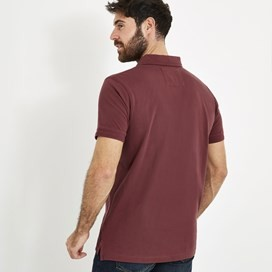 Turiff Organic Cotton Polo Oxblood