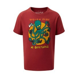 X-Boctopus Short Sleeve Artist T-Shirt Chilli Pepper