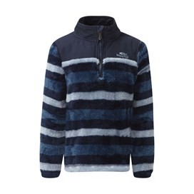 Stanley 1/4 Neck Stripe Fleece Maritime Blue