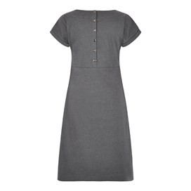 Talia Plain Jersey Dress Twilight Marl