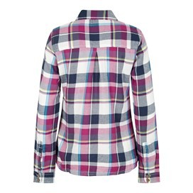 Rosa Check Twill Shirt Sloeberry