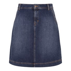 Ria Denim Skirt Dark Denim
