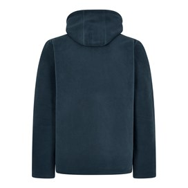Gervase 1/4 Zip Soft Knit Hoodie Moonlight Blue