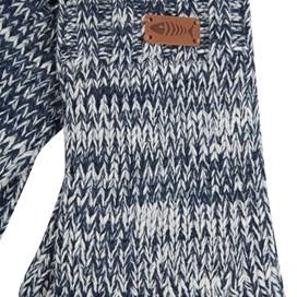 Terril Twisted Yarn Gloves Maritime Blue