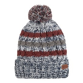 Vito Twisted Yarn Bobble Hat Maritime Blue