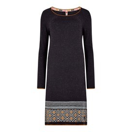 Jolie Knitted Dress Coal