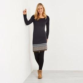 Jolie Knitted Dress Coal