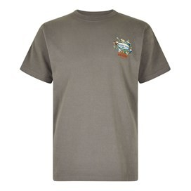 Fish Nations Artist T-Shirt Steel Grey