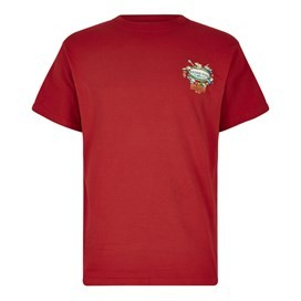 Fish Nations Artist T-Shirt Dark Red