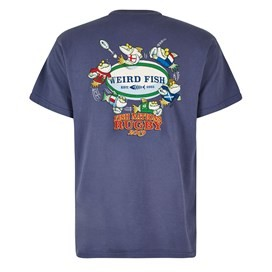 Fish Nations Artist T-Shirt Blue Indigo