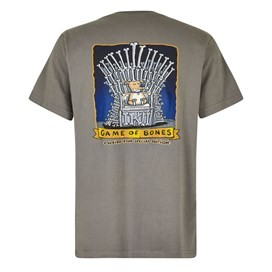 Game Of Bones Artist T-Shirt Steel Grey