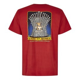 Game Of Bones Artist T-Shirt Dark Red
