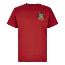 Game Of Bones Artist T-Shirt Dark Red