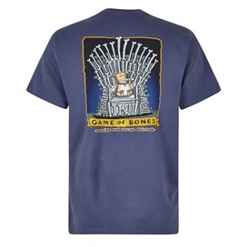 Game Of Bones Artist T-Shirt Blue Indigo