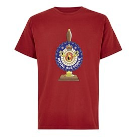 Royal Ale Force Artist T-Shirt Dark Red