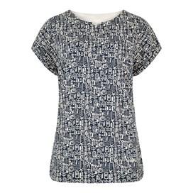 Sana Printed Jersey T-Shirt Indigo