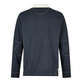 Larne Long Sleeve Rugby Shirt Dark Navy
